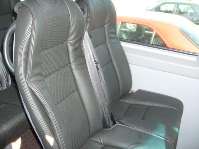 Mercedes Sprinter Siyah Deri